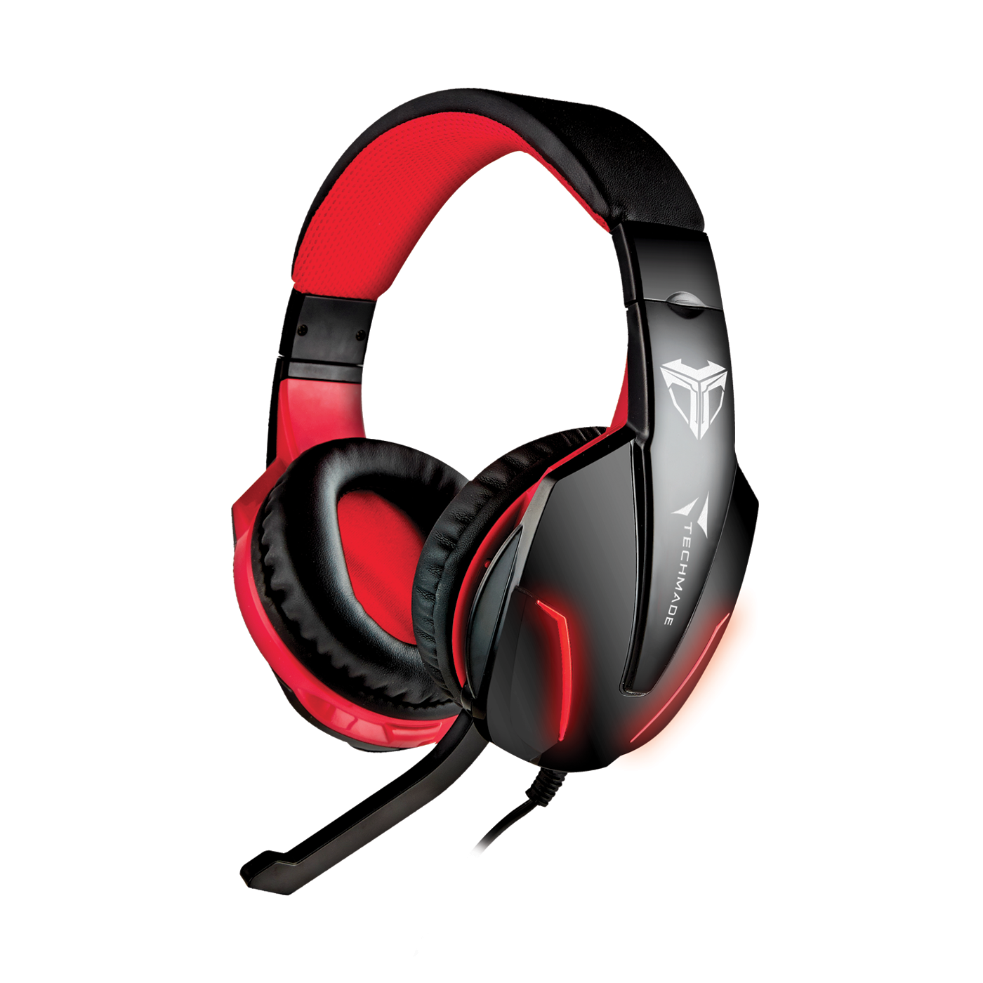 TECHMADE CUFFIE GAMING M ULTIMEDIALI TM-FL1